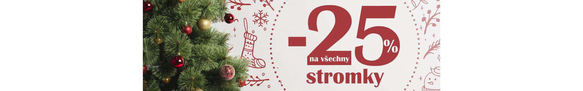 Vánoční stromky -25%