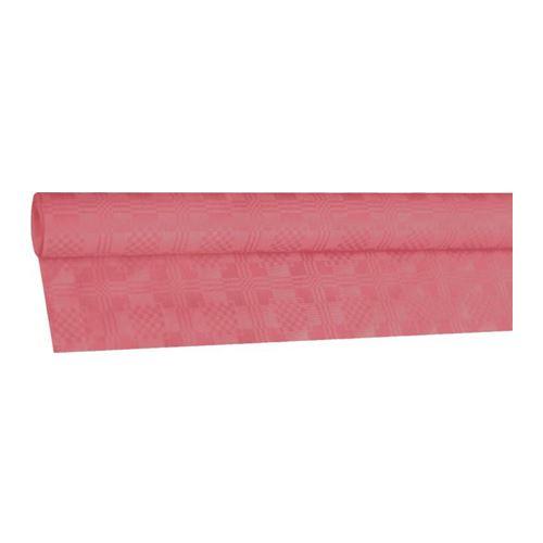 Obrus papírový rolovaný 8 x 1,20 m, růžový