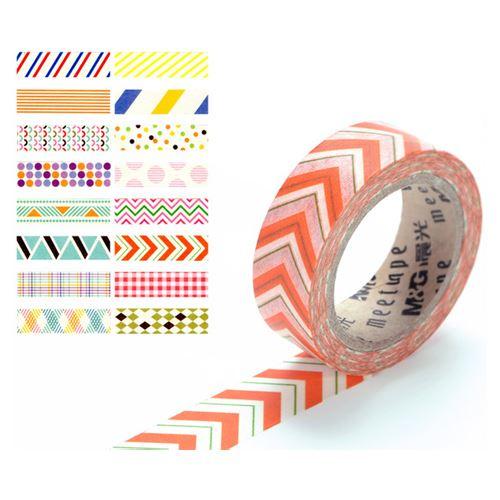 Lepicí páska - s potiskem 15 mm x 10 m, 1 ks