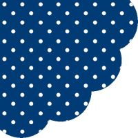 Obrousky PAW R 32 cm Dots Dark Blue