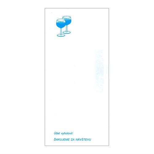 Servírka účtenka 7 x 15 cm (004)