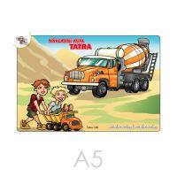 Omalovánka A5 Tatra nákladní