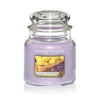Svíčka Yankee Candle - Lemon Lavender, střední