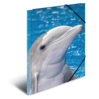 Deska s gumičkou PP A4 Delphins