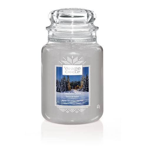 Svíčka Yankee Candle - Candlelit Cabin, velká