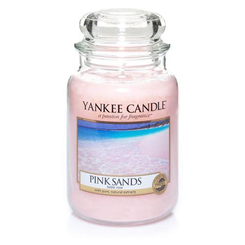 Svíčka Yankee Candle - Pink Sands, velká
