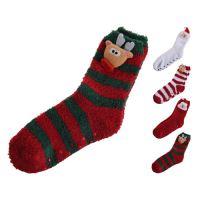 Ponožky - vánoční s postavičkou 38/39, mix / 1 pár