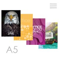 Kniha záznamní A5, linkovaná - 144 listová