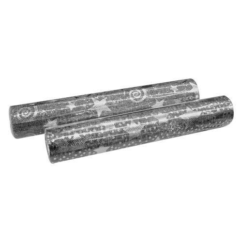 Látka dekorační/organza 250x28 cm - šedá, 1ks