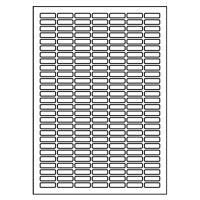 Etikety PRINT A4 / 100 ks, 25,4x10 - 189 etiket, bílé