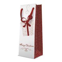 Dárková taška PAW Letters Gift Bottle, bottle - 12x37x10 cm