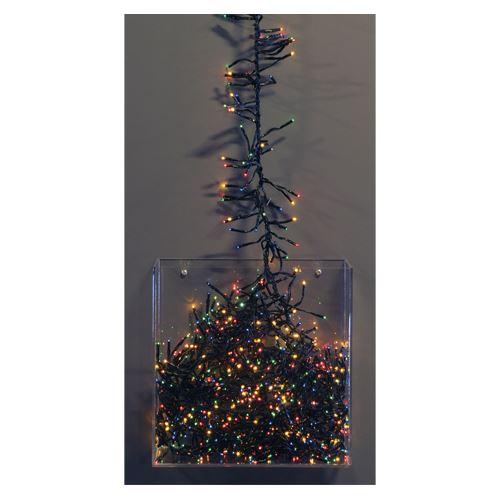 Vánoční mikrožiarovky 1152 LED 3 mm - barevné, 10,2 m