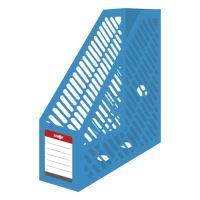 Stojan na časopisy A4 JUNIOR - plastový / modrý