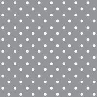 Ubrousky PAW L 33x33cm Dots Grey