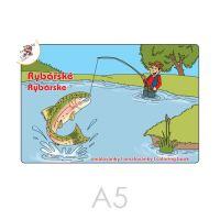 Omalovánka A5 Rybářské omalovánky