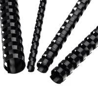 Hřebeny plastové 19 mm černé