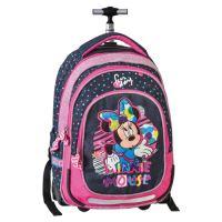 Školní batoh na kolečkách Smart Trolley Minnie Mouse, Fabulous