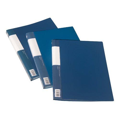 Katalogová kniha A4 40 listů, modrá