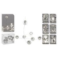 Svítící řetěz 20 LED - studená bílá, 220 cm