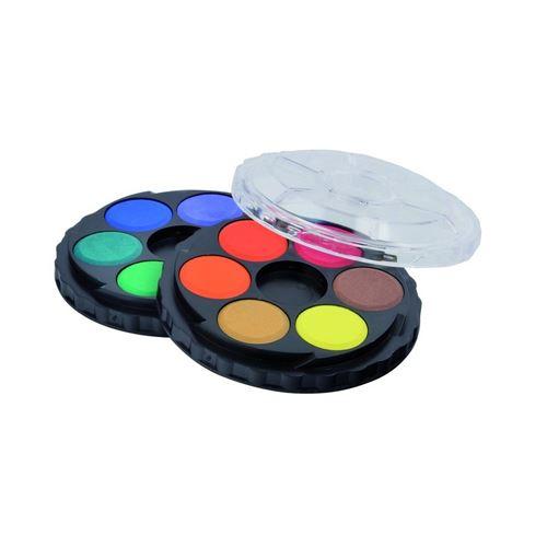 Barvy vodové okrouhlé 12 barev