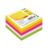 Blok / kostka samolepící Sticky Notes - Neon 76x76 mm / 500 l.