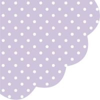 Ubrousky PAW R 32 cm Dots Violet