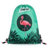 Sáček na cvičky Flamingo