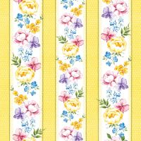 Ubrousky PAW L 33x33 cm Vernal Flowers Yellow