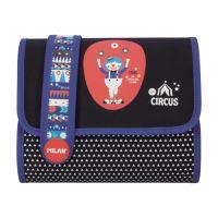 Penál MILAN plný Multi Circus II Toni modrý
