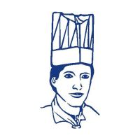 Kuchařská čepice vysoká bílá 23 cm (10 ks v bal.)