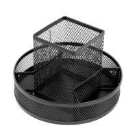 Drátěný stojan otočný 5-dílný, černý