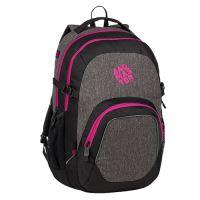 Studentský batoh SUPERNOVA 8 B BLACK/PINK/VIOLET