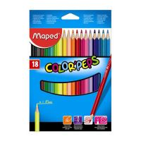 """Pastelky MAPED """"COLOR'PEPS"""" 18 ks"""