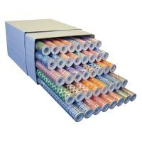 Úklidový / policový papír 0,5 mx 10 m PE, mix vzorů