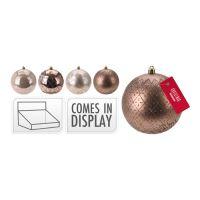 Vánoční koule - PP 100 mm / delight, mix / 1ks
