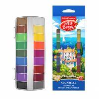 Sada akvarelových barev EK Premium + UV 18 ks