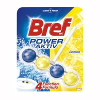 Bref Power Aktiv WC blok Lemon, 51g