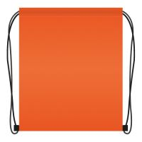 Kapsa na přezůvky 41x34 cm - oranžové