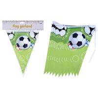 Plastový řetěz Football - párty vlajka, 1ks