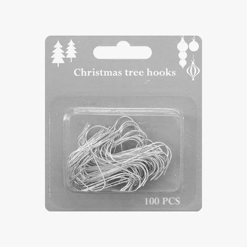 Vánoční háčky, set 100 ks