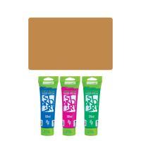 Akrylová barva JUNIOR 120 ml světle hnědá 601