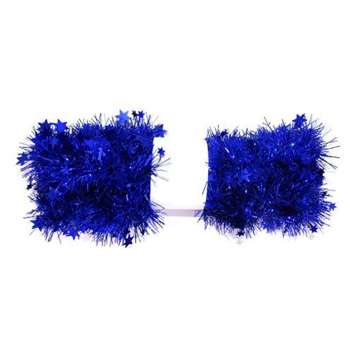 Řetěz hvězdy - modrá 2 m, 1ks