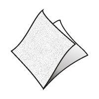 Ubrousky 1-vrstvé 30 x 30 cm bílé 70 ks