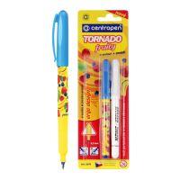 Pero kuličkové CENTROPEN 2675/2 Tornado Fruity + zmizík
