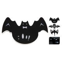 Dekorace Halloween - různé motivy 40 cm - svítící LED, 1ks