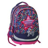 Školní batoh Seven Sazio, Stars