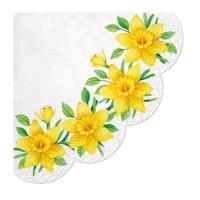 Ubrousky PAW R 32 cm Daffodils in Bloom