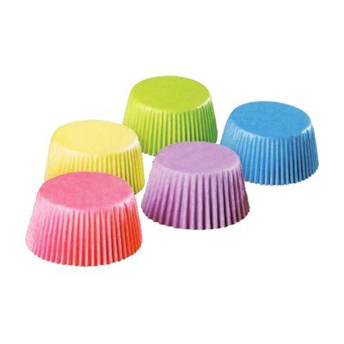Cukr. košíčky barevné průměr 25 mm, výška 18 mm / 200 ks /