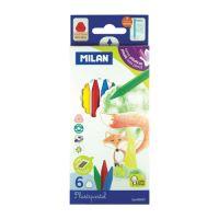Plastické pastelky MILAN 6 ks