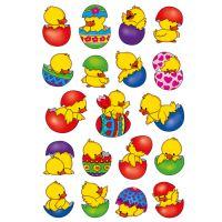 Velikonoční nálepka kuřátka
